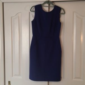 Tailored dress with tops rich detail
